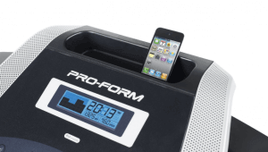 Proform 505 cst -A small treadmill with great features-console feature