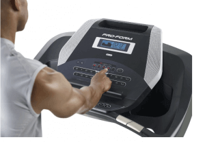 Proform 505 cst -A small treadmill with great features-console features