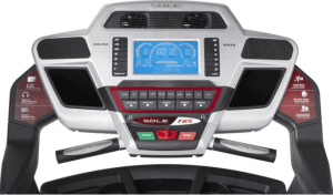 Sole F85 - A Gym Quality Treadmill For Your Home-console