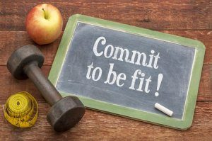 How to start aerobic exercises-commitment