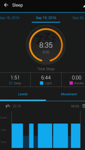 garmin-fitness sleep tracker