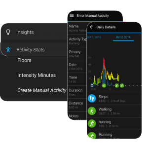garmin-vivosmart hr monitor