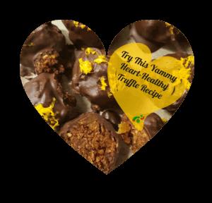 Heart healthy truffle recipe