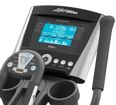 Life Fitness X3 Elliptical Cross Trainer Workout Console